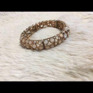Opal stone bangle bracelet